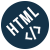 Icon of HTML