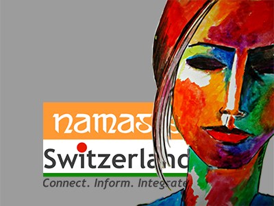 Showcase of Namaste Switzerland logo